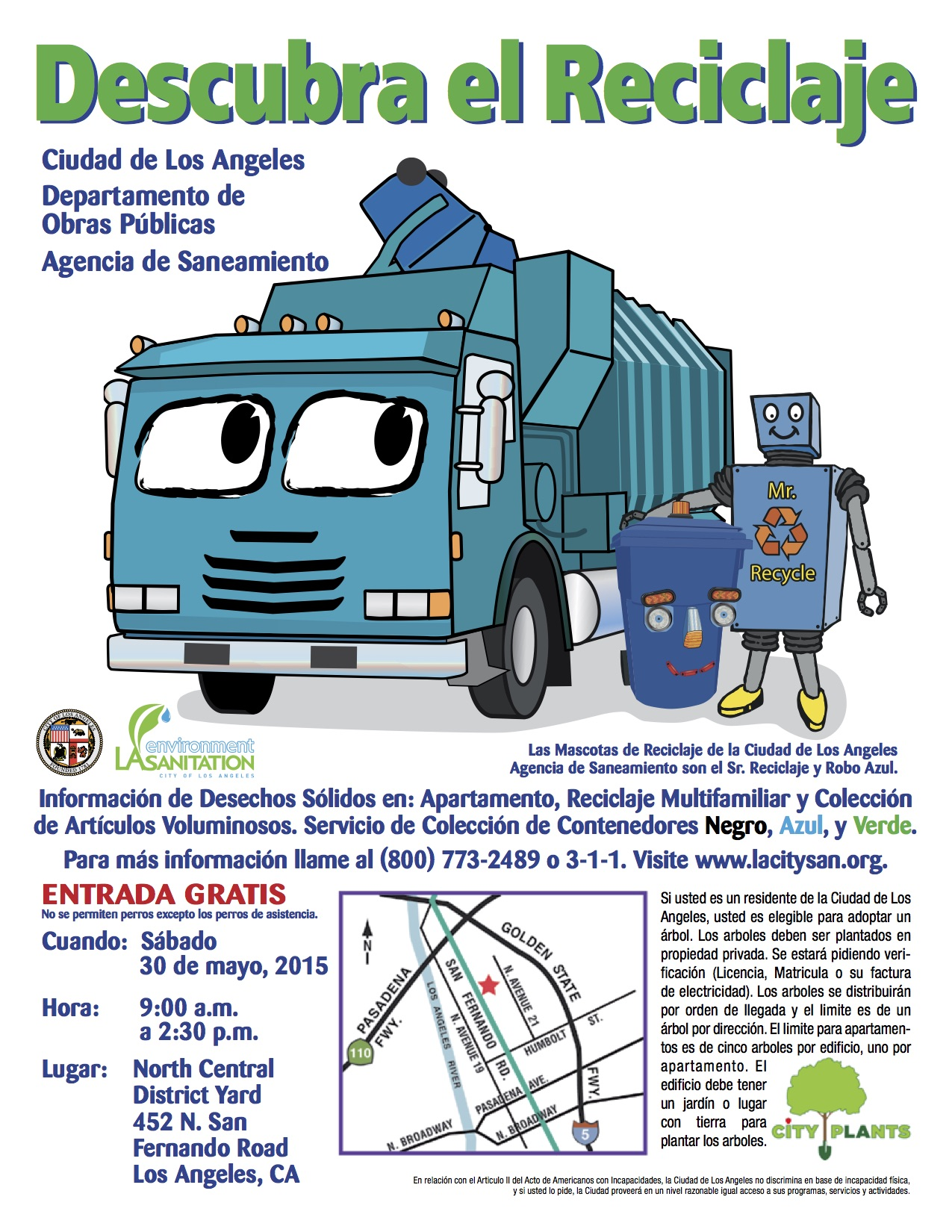 About Bureau Of Sanitation U2013 As The Lead Agency For The Cityu0027s  Environmental Programs And Initiatives, L.A. Sanitation Protects Public  Health And The ...